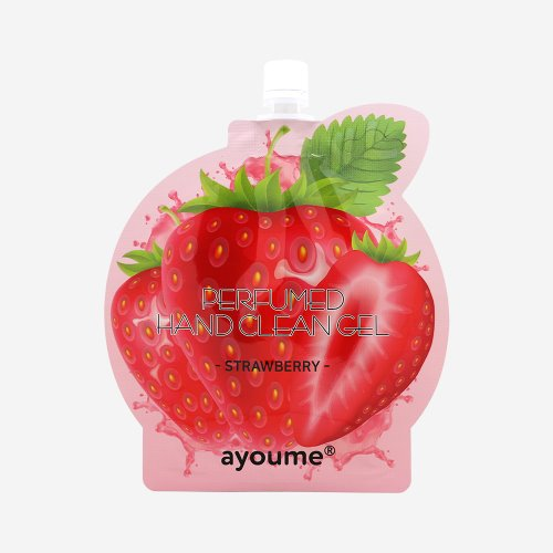 AYOUME PERFUMED HAND CLEAN GEL -STRAWBERRY-